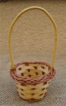 "2"" Basket Basket w/ Handle Perfect for Air Plants"