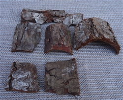 6 Pack Mini Tree Bark Tiles
