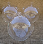 "3 Pack-5.5"" Glass Plant Orb"
